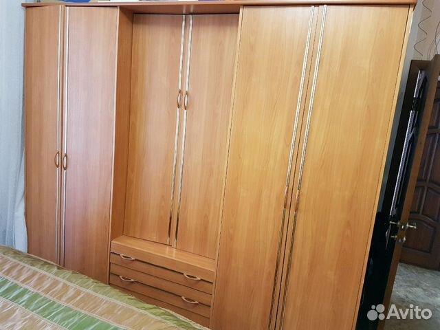 Спальный гарнитур: шкаф, кровать, 2 тумбочки, стол 89534918090 купить 1