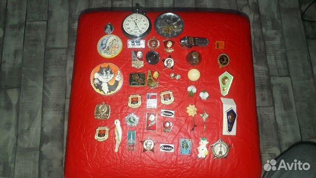 Продам значки и часы СССР 89159777786 купить 1