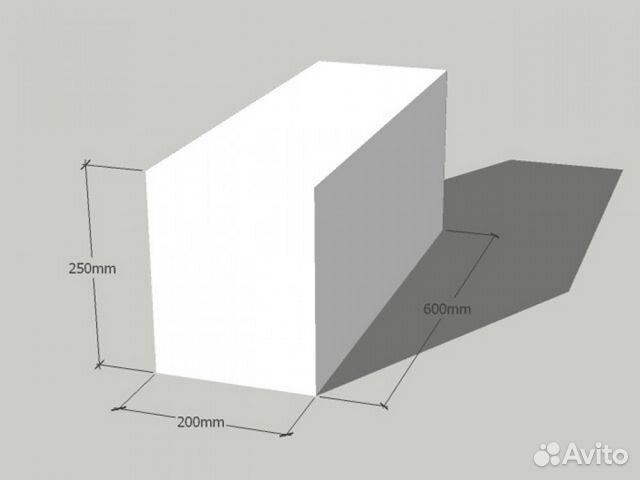 размер газоблока 400