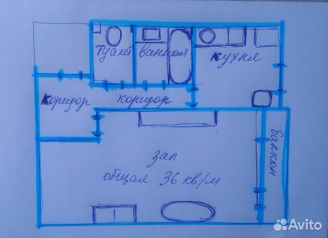 Продается однокомнатная квартира за 1 700 000 рублей. Саранск, Республика Мордовия, улица Полежаева, 120.