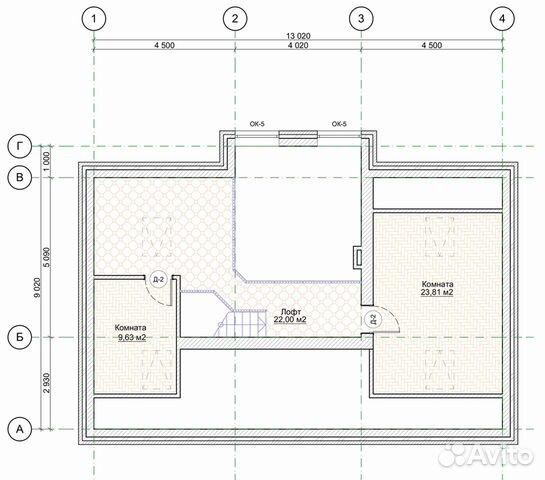 Коттедж 163 м² на участке 10 сот. купить 4