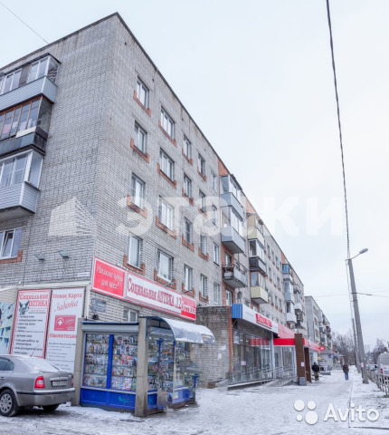 Продается трехкомнатная квартира за 2 880 000 рублей. Луначарского, 15.