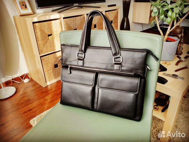 b4063232cab8 Новая мужская сумка (портфель) Арт 102 купить в Москве на Avito ...