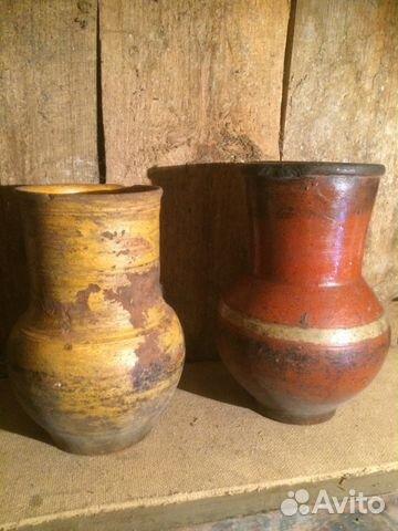 Старая глиняная посуда