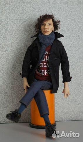 Авторская кукла Шерлок(Бенедикт Камбербэтч) 89236371813 купить 5