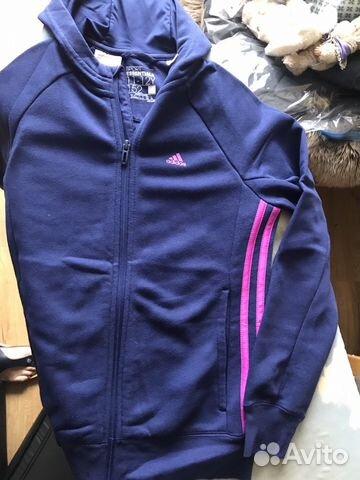 9b288623 Adidas спорт.костюм для девочки купить в Краснодарском крае на Avito ...