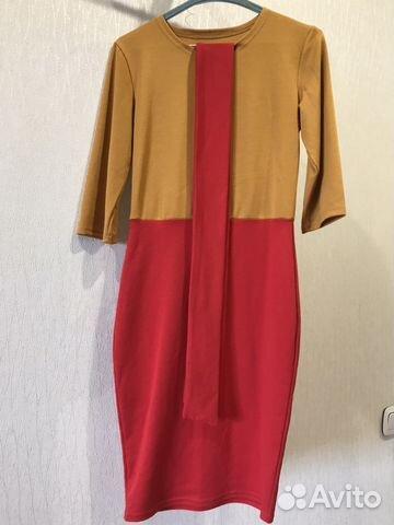 Платье трикотаж новое 89628553030 купить 2