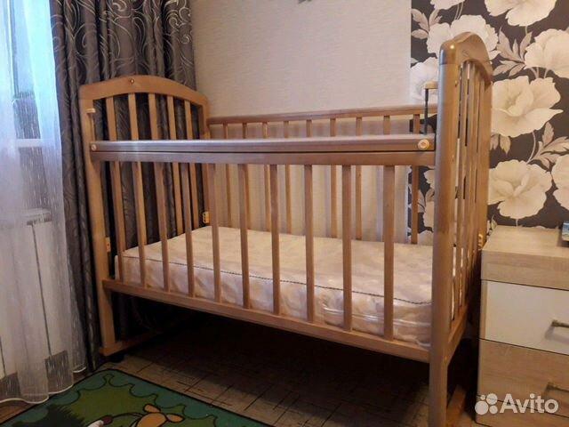 Кровать детская с матрасиком 89277353284 купить 1