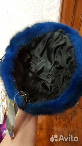 Шапка норковая (вязанка) 89145247425 купить 4