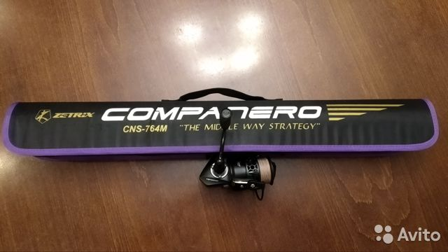 Спиннинг Zetrix Companero 228m/7-28gr/8-17lb CNS-764M