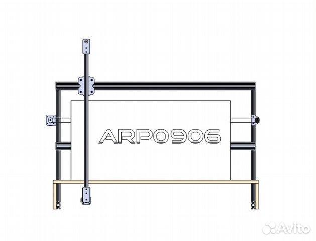 Арп0906-2Д настольный станок с чпу по пенопласту