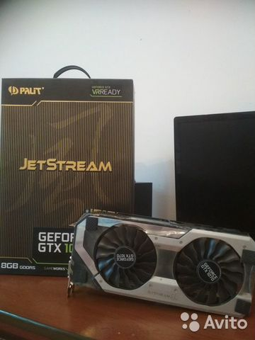 Palit GeForce GTX 1070 jetstream— фотография №1