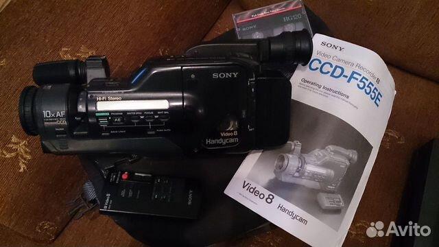 Видеокамера Sony CCD-F555E купить в Москве на Avito