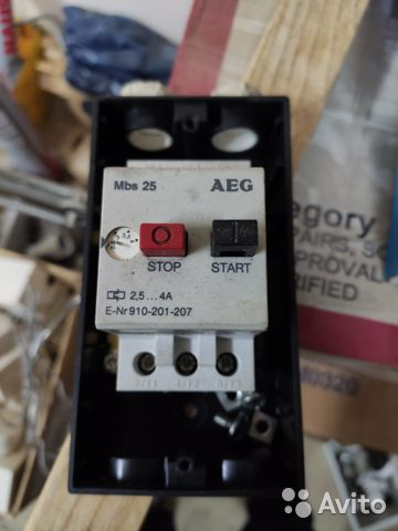 Выключатель двигателя аварийный AEG MBS25