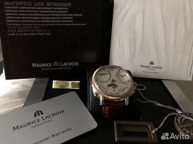 Продать часы maurice lacroix золотые у полет часы б продам