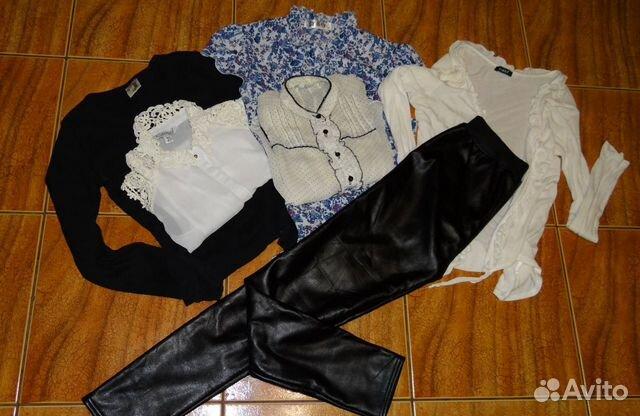 Одежда пакетом + кож.штаны  89009302034 купить 1