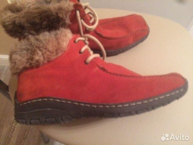 Ботинки Reaker натуральный замш, на меху, в очень 89204029036 купить 4