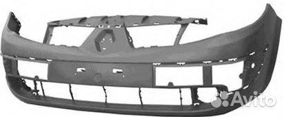 89190333000  Бампер передний Renault Scenic 2 2003-2006
