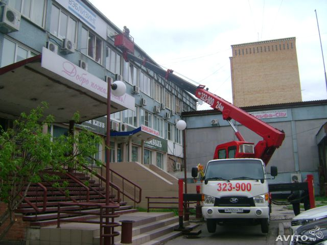Rent of tower truck 24 meters