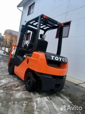 Toyota 8FD25 Вилочный погрузчик 89176710372 купить 7