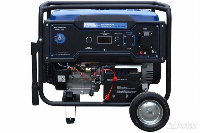 Бензогенератор TSS SGG 5000ehna - 5 кВт 2230 В  89517961405 купить 1