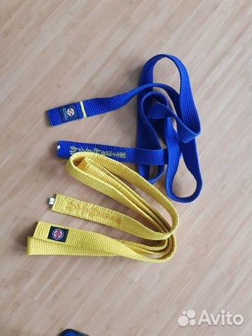 Пояс синий, желтый  купить 1