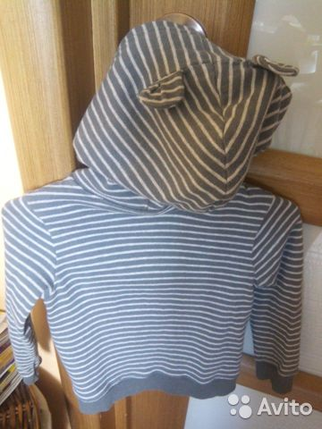 Кофта детская с капюшоном