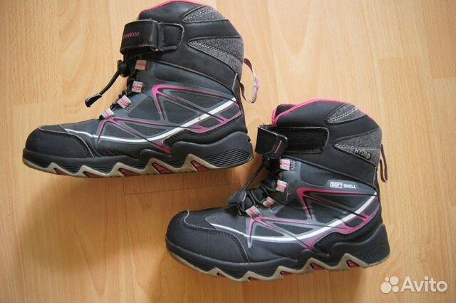 Зимние ботинки р.34  89532526002 купить 1