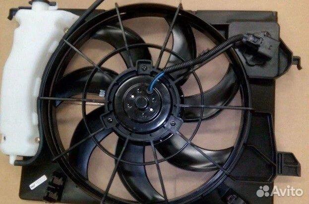 Вентилятор охлаждения радиатора. артикул 32786