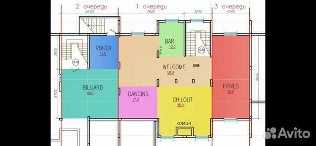 Коттедж 1000 м² на участке 28 сот.  89052021380 купить 7