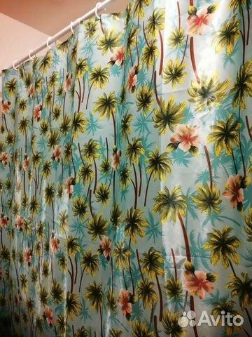 Штора+карниз для ванной комнаты  89873259472 купить 1
