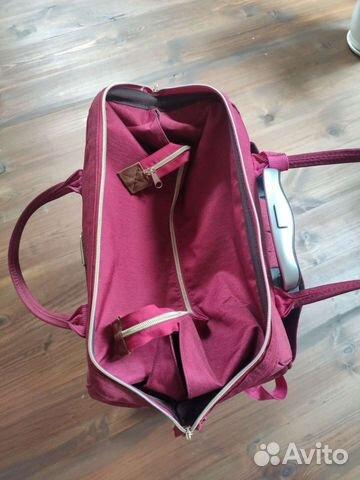 Новая сумка-рюкзак дорожная на колесиках barrley p  89208787198 купить 3
