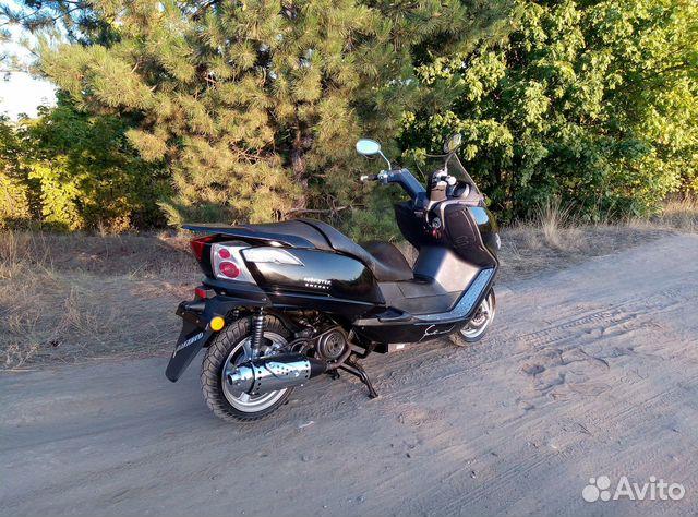 Макси скутер Yiben Vanguard 150  89885612079 купить 3