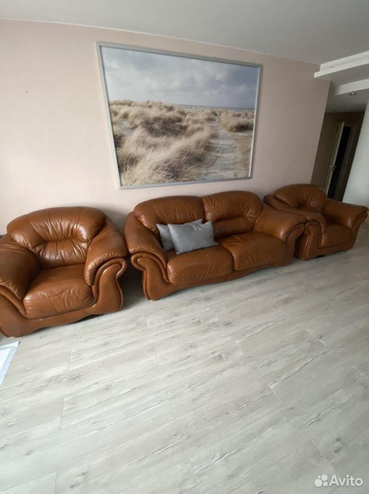 Кожаный диван  89513710728 купить 1