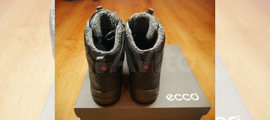d4101ac504ff Мужские зимние ботинки Ecco Xpedition III,высокие купить в Москве на Avito  — Объявления на сайте Авито