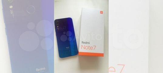 Redmi Note 7 128 GB купить в Красноярском крае с доставкой | Бытовая электроника | Авито