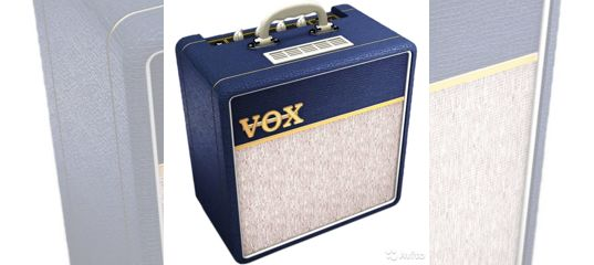Ламповый <b>мини комбоусилитель VOX</b> AC4C1 Blue купить в ...