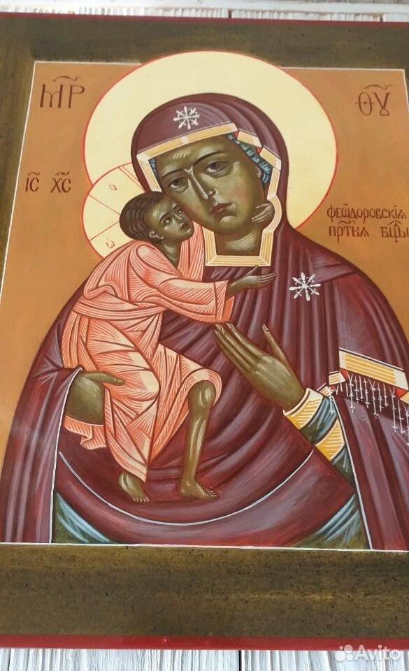 Икона Федоровская Божья матерь