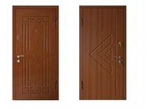 Входные двери с отделкой мдф под любой проем