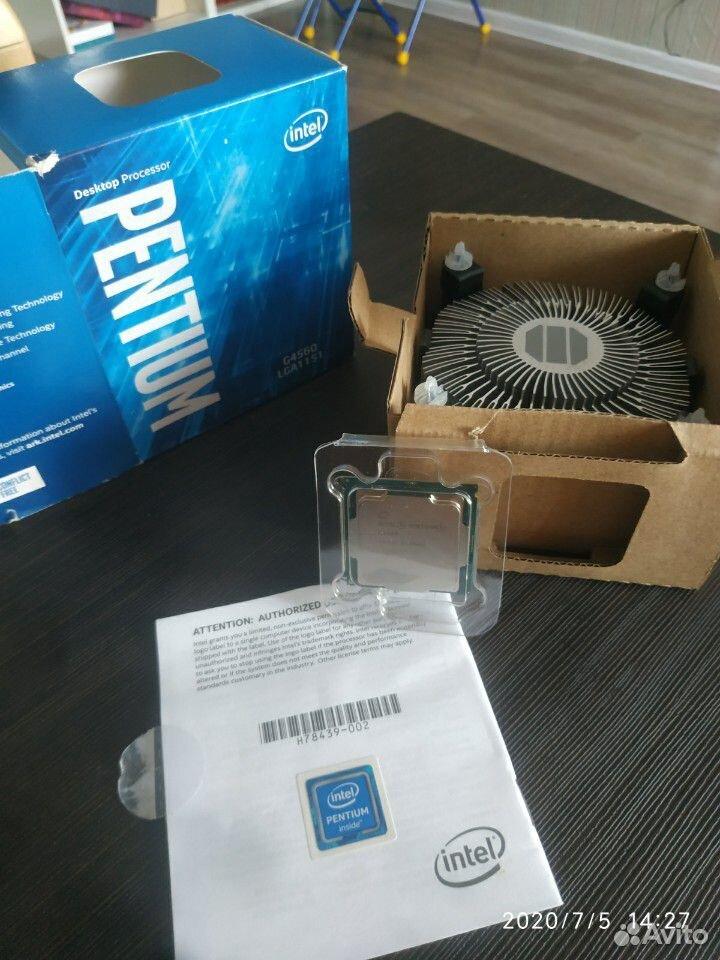 Процессор Intel Pentium G4560LGA 1151 + Кулер  89156519330 купить 1