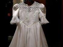 Платье праздничное.Размер на 6-8 лет