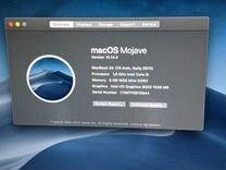 MacBook Air 13 i5 1.6GHz 8gb 256gb Потрепанный