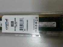 Серверная Память Crucial 8 Гб Reg DDR3 1866 новая — Товары для компьютера в Новосибирске