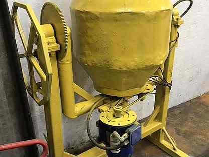 Бетономешалка 180 литров, швеллер 27 п