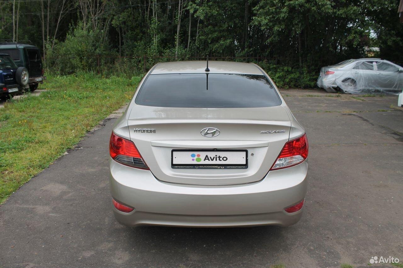 Hyundai Solaris, 2011  89523074499 купить 5