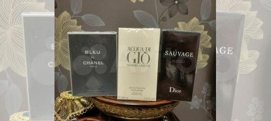 духи Acqua Di Gio Dior Sauvage Bleu De Chanel купить в ростовской