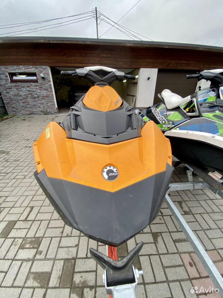 Гидроцикл BRP Sea-Doo spark с прицепом