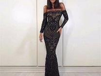 Вечернее платье силуэта рыбка прокат А1844, M