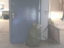 2шт. Металлические двери