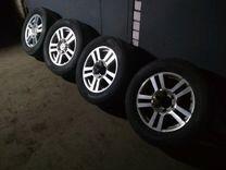 Колеса Toyota Land Cruisers Prado 150
